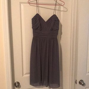 Grey Alfred Angelo cocktail dress
